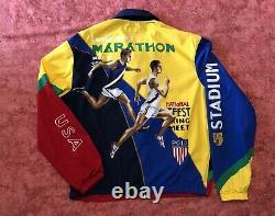 NWT Polo Ralph Lauren Chariots Marathon Vintage Track & Field Stadium 92 XL