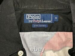 New With Tags Original Vintage Polo Ralph Lauren 1992 Ski Button-Up Shirt Small