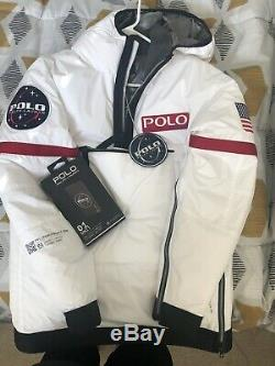 POLO RALPH LAUREN Polo 11 Heated NASA Jacket XS stadium pwing vintage rare size