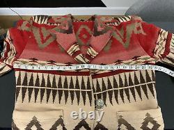 Polo Country Ralph Lauren VTG Indian RRL Aztec Southwestern Jacket Sweater Coat