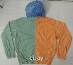 Polo Ralph Lauren 1992 Popover Color-Blocked Windbreaker Jacket Montauk M $298