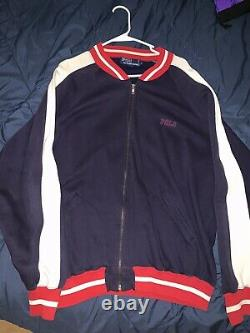Polo Ralph Lauren 1992 Vintage P-Wing Stadium Jacket L snow beach bear sport