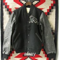 Polo Ralph Lauren Denim And & Supply Black Wool Baseball Varsity Jacket $325+