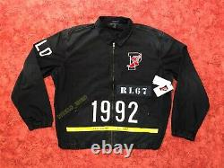 Polo Ralph Lauren Indigo Stadium Denim Jacket 1992 Limited Retro Vintage XL