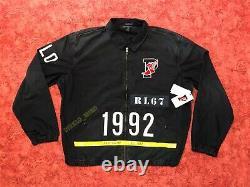 Polo Ralph Lauren Indigo Stadium Denim Jacket 1992 Limited Retro Vintage XXL