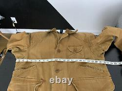 Polo Ralph Lauren Medium Hunting Jacket RRL VTG Utility Rugby Country Distressed