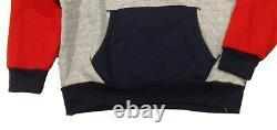 Polo Ralph Lauren Men's Dark Vintage Heather Brushed Fleece Sportsman Hoodie