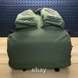 Polo Ralph Lauren Mountain Roll-Top Backpack Bag Olive Green Vintage Style