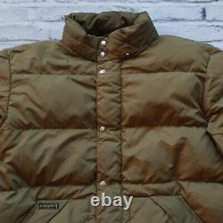 Polo Ralph Lauren Quilted Puffer Down Jacket Size XL Puffy Vtg