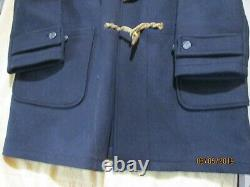 Polo Ralph Lauren Rugby Toggle Hooded Duffle Coat VTG XL