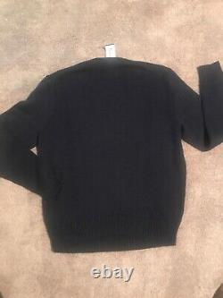 Polo Ralph Lauren Size Large Polo Bear Knit Sweater Pwing Vintage Blazer