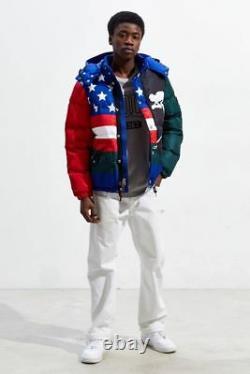 Polo Ralph Lauren Ski Retro Vintage1992 Water Repellent Down Jacket XL Supreme