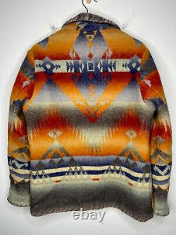 Polo Ralph Lauren Small Cardigan Jacket Southwestern RRL Aztec Serape VtG Ranch