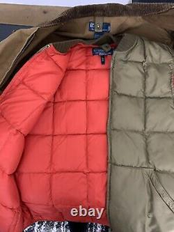 Polo Ralph Lauren Small Hunting Jacket + Vest RRL VTG Utility Rugby Country Coat