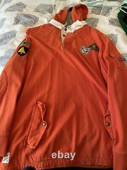 Polo Ralph Lauren Vintage Mint Ski Patrol Rugby XXL W Hood Rare Indian Pwing 92