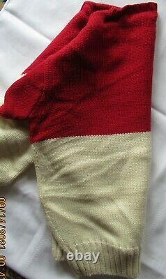 Polo Ralph Lauren Vintage Ski Sweater 100% Wool Size L