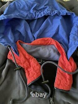 Polo Ralph Lauren Vintage XL Usa Superman Hoody Rare Indian Bear 92 Italy Ski 93