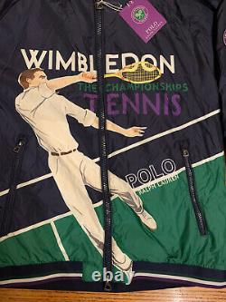 Polo Ralph Lauren Wimbledon 2018 Jacket XXL 2XL Tennis Sport Stadium Rare Vtg 92