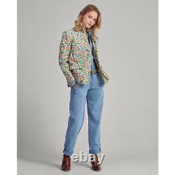 Polo Ralph Lauren Womens Floral Button Vintage Canvas Barn Jacket Coat NWT S M L