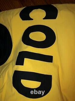 Polo Ralph Lauren x Browns Snow Beach Stadium 92 93 RARE! Sz L Vintage Grail