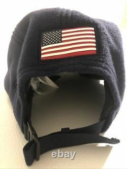 Polo Sport Ralph Lauren Flag Mesh Cap Usa Wing 1992 Nwt Beat Vtg Vintage Navy