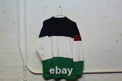 RARE Vintage Polo Ralph Lauren Cp Rl 93 92 Colorblock Longsleeve Sz Mens L