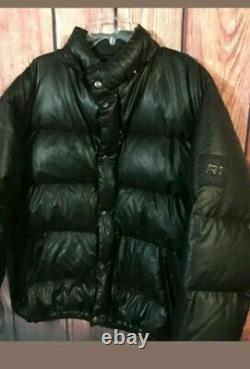 RARE vtg Ralph Lauren Polo Sport Coat Tech Puffer down XXL 92 Goose bubble