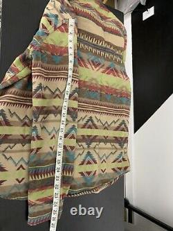 Ralph Lauren D&S Medium Shirt RRL Beacon SouthWestern VTG Polo Rodeo Aztec Multi