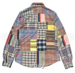 Ralph Lauren D&S Small Shirt Aztec Indian Hunting VTG RRL Patchwork Polo Navajo