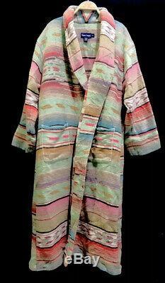 Ralph Lauren Jacket VTG Polo Country Indian Serape RRL Aztec Robe Wrap Sweater