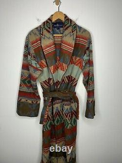 Ralph Lauren Jacket VTG Southwestern Cardigan RRL Blanket Coat Polo Aztec Serape