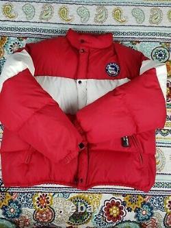 Ralph Lauren Polo Sport Arctic Challenge Down Puffer Jacket Sz XL Vintage 90s