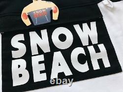 Ralph Lauren Polo Sz XL Snow Beach Rugby Shirt Vtg Black White B&w Pullover