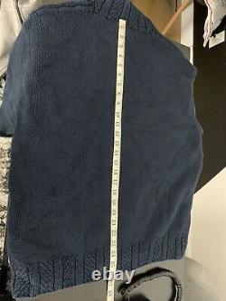 Ralph Lauren Sweater Duck Hunting RRL Polo Sportsman Knit VtG Pheasant Blue M/L