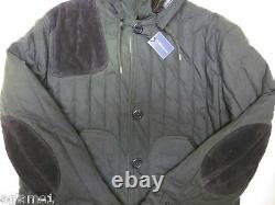 Rare Polo Ralph Lauren Vintage style Military Quilted jacket XXL Hunting coat