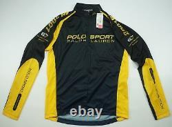 Rare Vintage POLO SPORT Ralph Lauren Technology 2001 RL Cycling Jersey 90s NWT M
