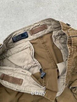 Rare Vintage Polo Ralph Lauren Archival Cargo Tactical Pants Sz 34
