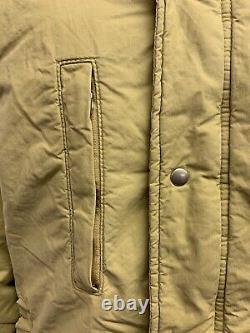 Rare Vtg. Polo Ralph Lauren Beige Aztec/Navajo Comanche/Sioux Puffer Jacket Sz L