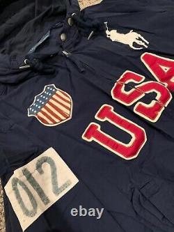 Rare polo ralph lauren jacket men large USA L vintage RL Japan Olympics 2020