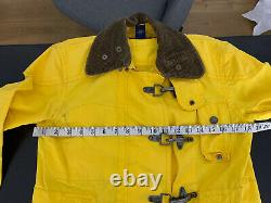 Rugby Ralph Lauren X-Small Yellow Fireman Jacket Coat Sailing RRL Polo VTG Rain