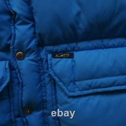 Rugby by Ralph Lauren Quilted Down Puffer Vest Winter Puffy Jacket Polo Vtg