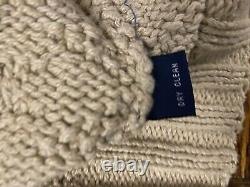 STEAL Vintage Ralph Lauren Polo Ski Sweater Snow Skiing Hand Knit Suicide 1992 M
