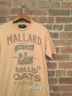 VINTAGE Polo Country Ralph Lauren Mens T Shirt Size Small Mallard Duck