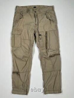 VNTG Polo Ralph Lauren (38x32) Military Paratrooper Flight Tactical Cargo Pant