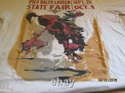 VTG Polo Country Ralph Lauren state fair Tee T Shirt M