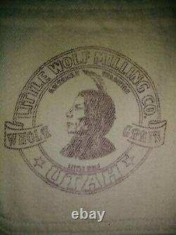 VTG Polo Ralph Lauren Bison Milling Company, Indian Head Barn Jacket Size Large