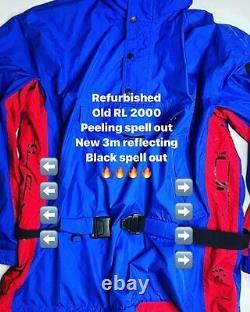 VTG Polo Ralph Lauren Hi Tech RL 2000 Alpine Ski Windbreaker Parka Size Large