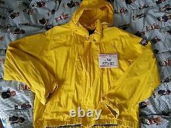 VTG Polo Ralph Lauren Uni shield Crest jacket L snow beach 92 ski bear suicide