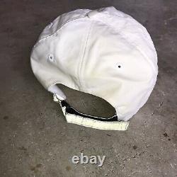 VTG Polo Sport Hat Cycle 3m Reflective White Ralph Lauren Rare Stadium 1992