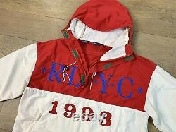 VTG Ralph Lauren Polo Sport 1993 Yacht Club RLYC Anorak Jacket Stadium Adult M